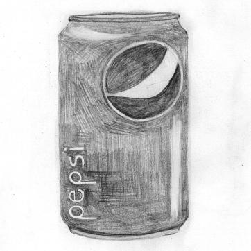 Pencil sketch | Pepsi