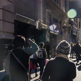 Street photography | Sun flare
