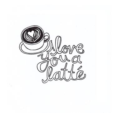 Foodles | Love You A Latte