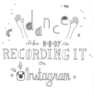 Modern Mantras: Instagram