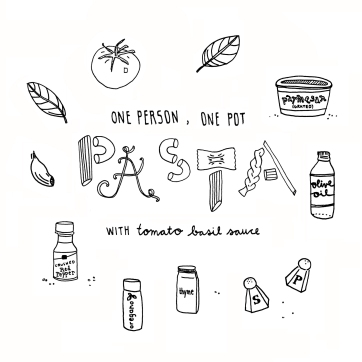 Pan to Paper blog | One Pot Pasta